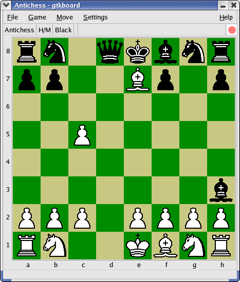 Antichess screenshot