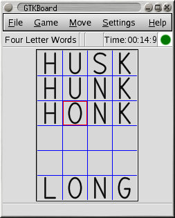 Four Letter Words screenshot